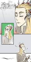 Thranduil the Glorious Snob by Lokimotives