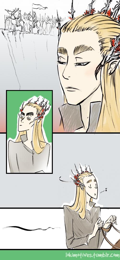 Thranduil the Glorious Snob by Lokimotives
