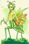 Mantis boy by Jostanuki