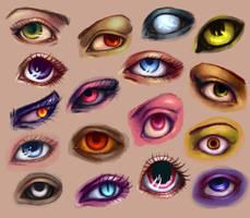 Eyes, eyes, eyes by eev11