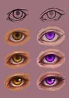 Step-by-step Eyes by eev11
