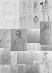 Traditional Sketchdump 4