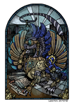 Stained Glass Vascal [Commission] by carbokation