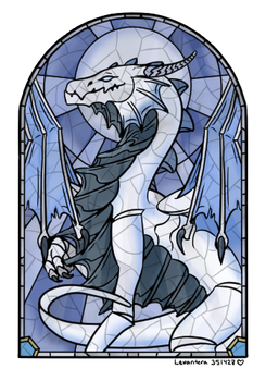 Stained Glass Beowyr [Commission]