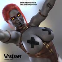 Giralda the Dark Iron Dwarf by NovaCG