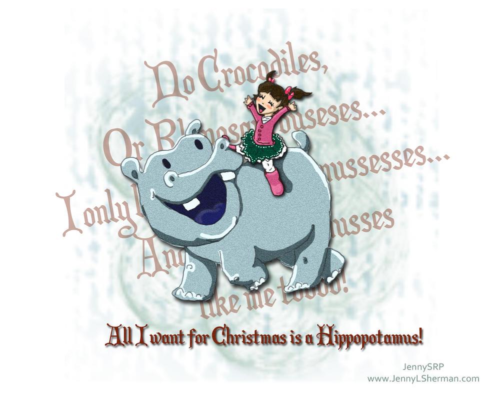 Hippo for Christmas by ShermanTank13 on DeviantArt