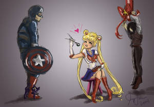 Captain Sailor Moon