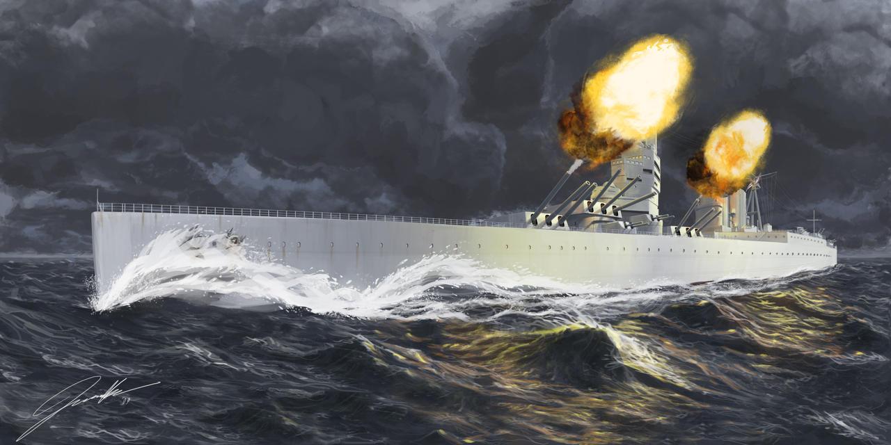 G3 Battlecruiser by Helgezone