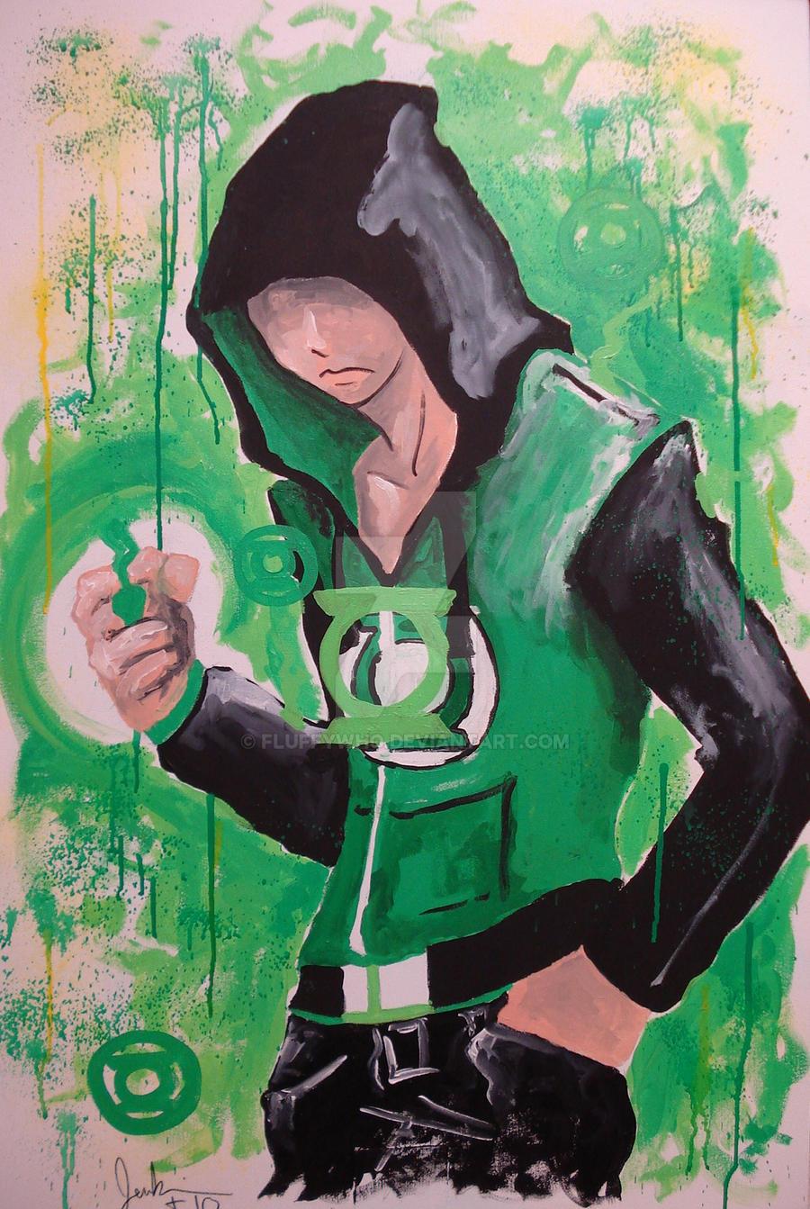 green lantern by FluffyWho
