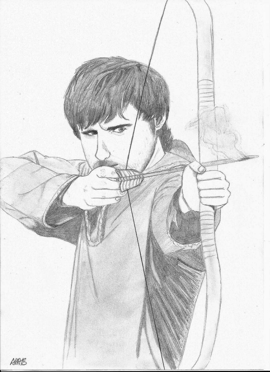 how to draw robin hood human