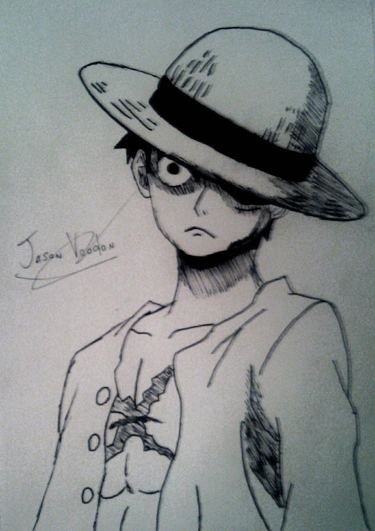 -monkey D luffy strong world by Jason-voodon