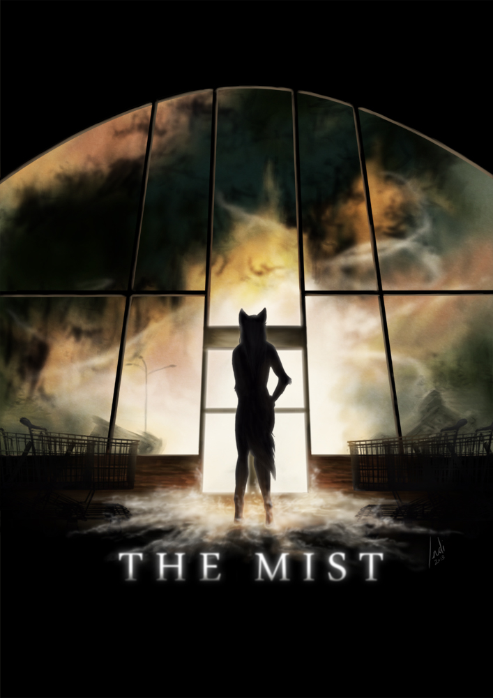 Who painted the mist movie poster