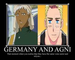Two Animes, Same Voice Actors by RockAlchemist105