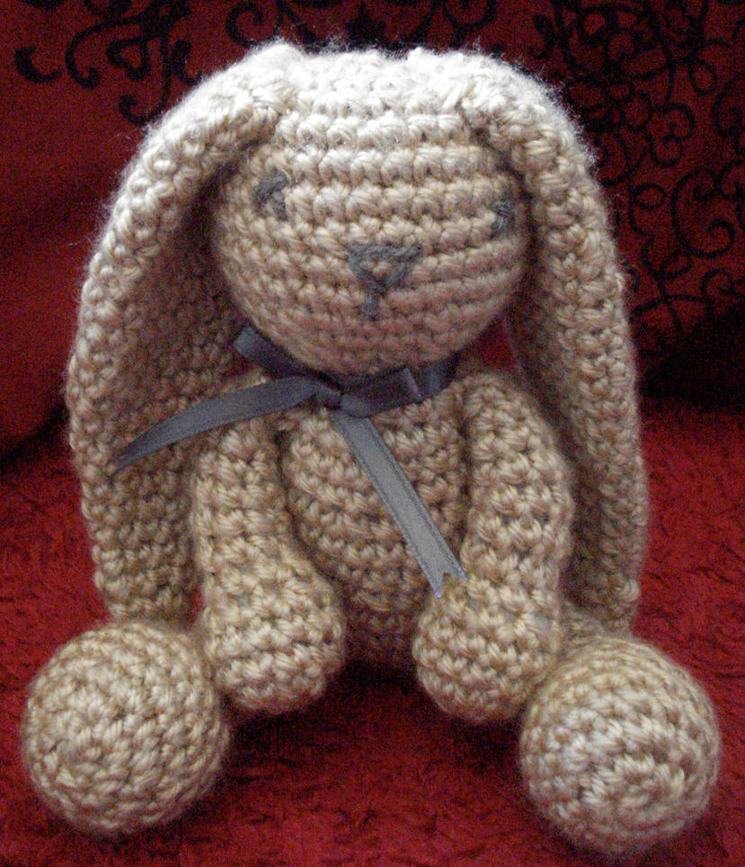 Free Crochet Pattern For Bunny Pin : bunny crochet patterns pictures to pin on pinterest Car ...