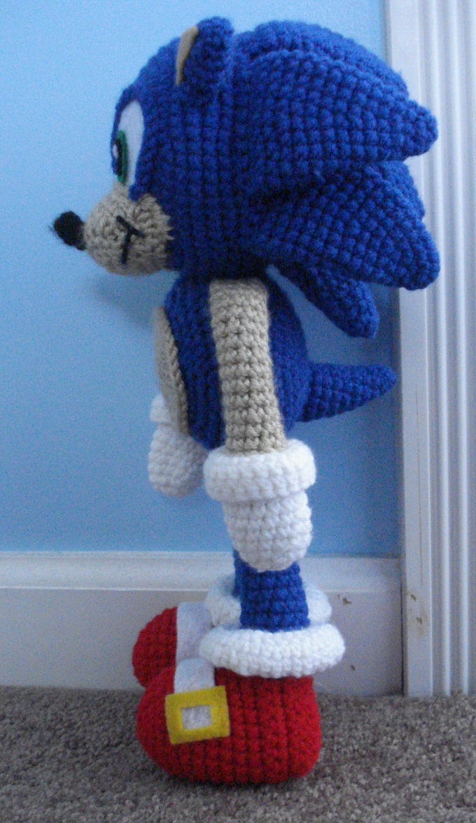 Free Crochet Pattern For Sonic The Hedgehog Hat ~ manet for .