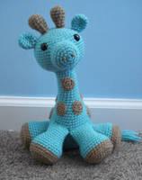 amigurumi giraffe by TheArtisansNook