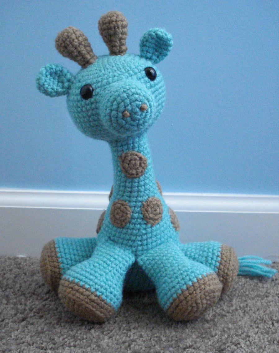 Crochet Free Pattern Giraffe : amigurumi giraffe by TheArtisansNook on DeviantArt