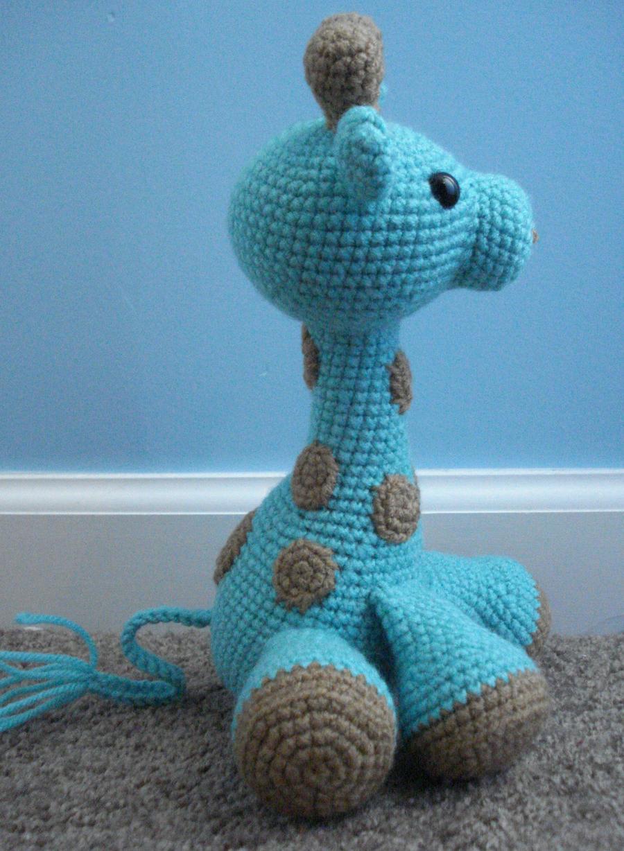 Amigurumi Free Pattern Giraffe : amigurumi giraffe 2 by TheArtisansNook on DeviantArt