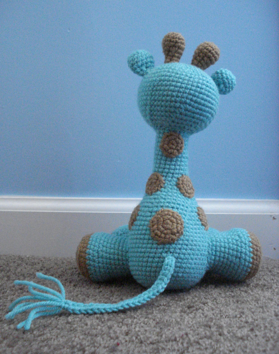 amigurumi giraffe 3 by TheArtisansNook on DeviantArt