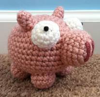 amigurumi piggy 2 by TheArtisansNook