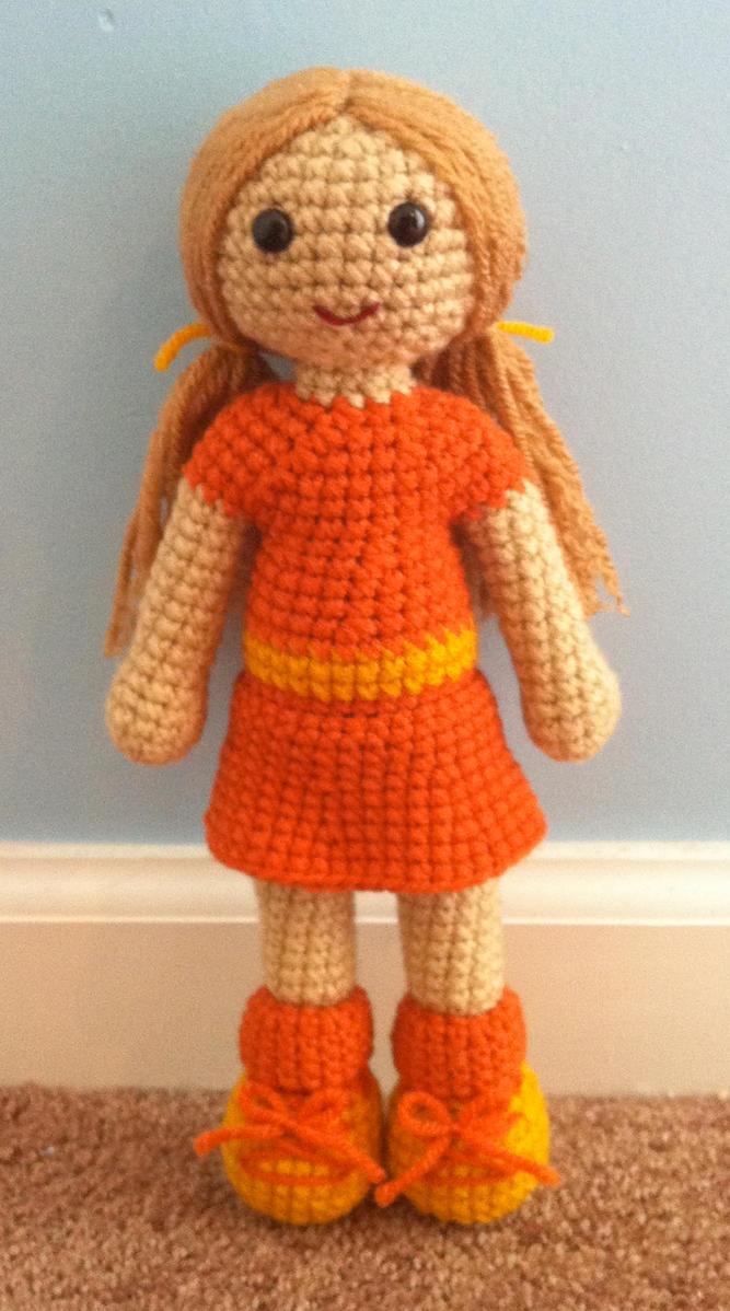 Amigurumi Saclari Yapimi : amigurumi doll by TheArtisansNook on DeviantArt