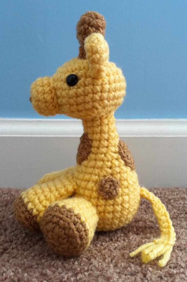 Kon Amigurumi Pattern Free : small amigurumi giraffe 2 by TheArtisansNook on DeviantArt