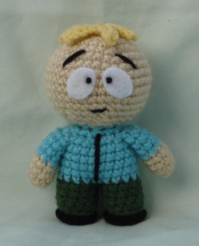 Amigurumi Cartman : butters amigurumi by TheArtisansNook on deviantART