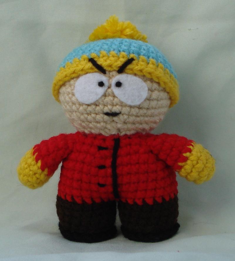 Amigurumi Cartman : cartman amigurumi by TheArtisansNook on DeviantArt