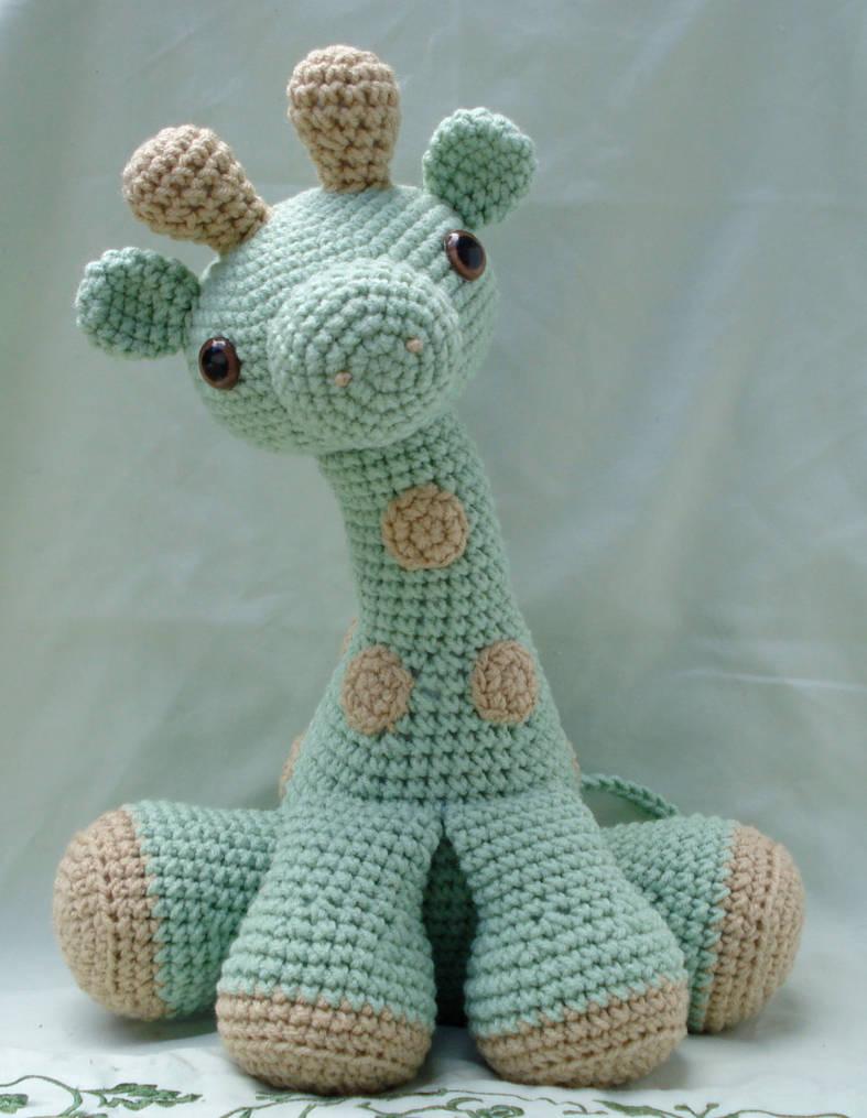 large amigurumi giraffe by TheArtisansNook