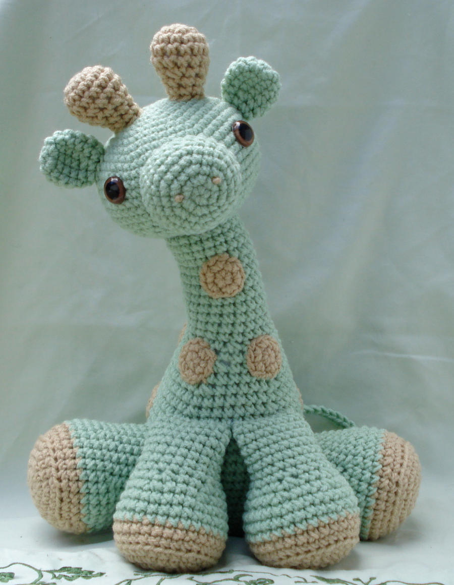 Free Printable Amigurumi Animal Patterns : large amigurumi giraffe by TheArtisansNook on DeviantArt