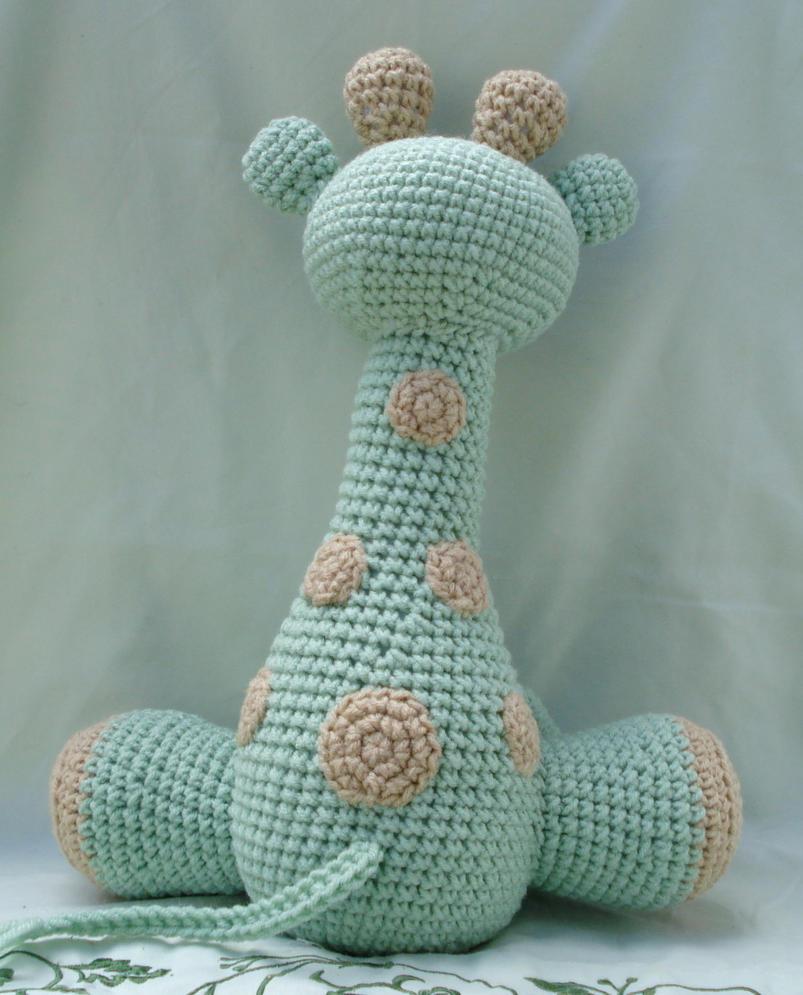 Amigurumi Giraffe Pattern Free : Large amigurumi giraffe by theartisansnook on deviantart