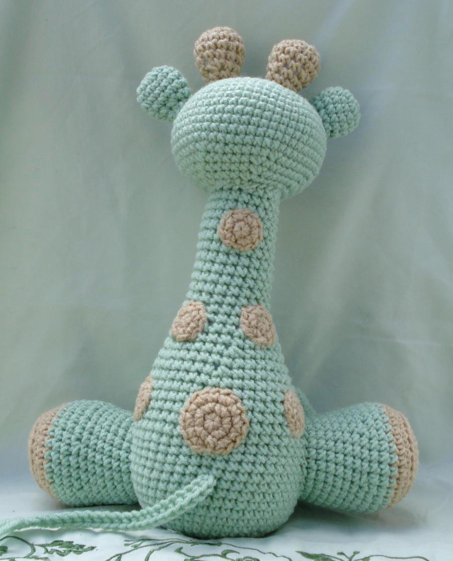 Amigurumi Giraffe Haken : large amigurumi giraffe 3 by TheArtisansNook on DeviantArt