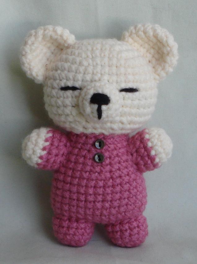 Amigurumi Bear Maya : sleepy bear amigurumi by TheArtisansNook on DeviantArt