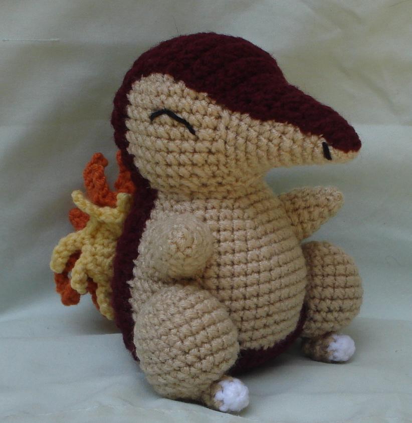 Flareon pokemon Amigurumi plush toy by Viol3t-Om3ga.deviantart.com ... | 844x822