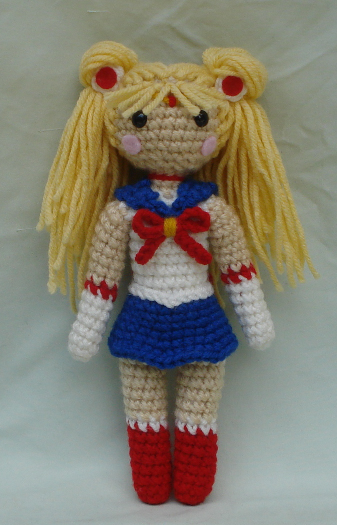 Amigurumi Moon Pattern : chibi sailor moon amigurumi by TheArtisansNook on DeviantArt