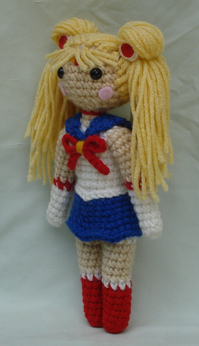 Amigurumi Sailor Moon : chibi sailor moon amigurumi 2 by TheArtisansNook on DeviantArt