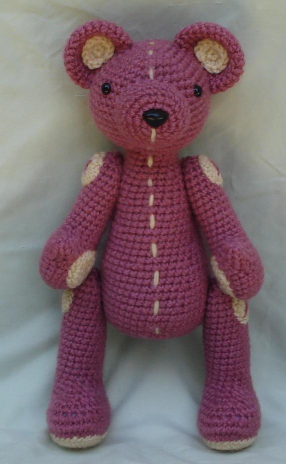 Amigurumi Pink Bear : pink bear amigurumi by TheArtisansNook on deviantART