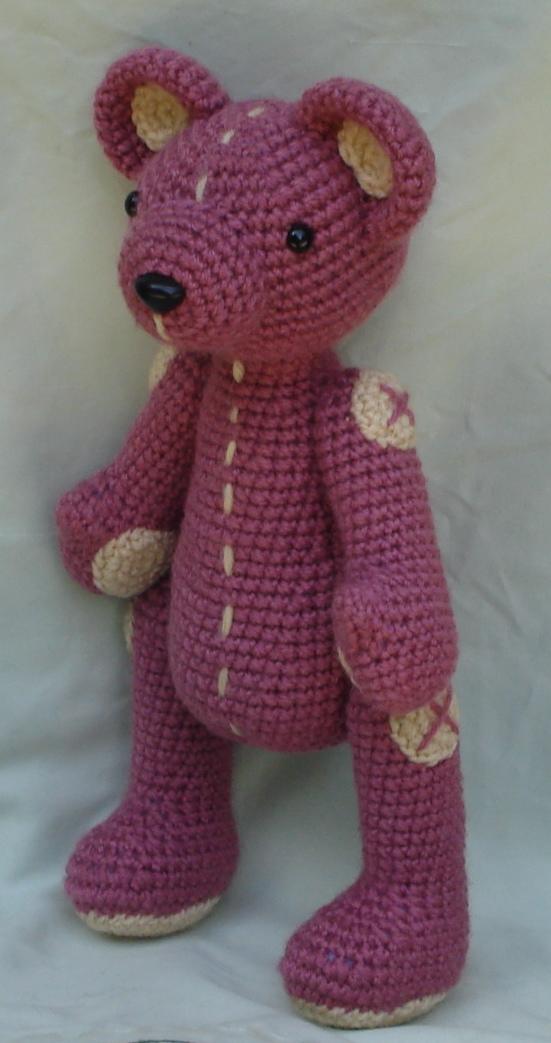 Amigurumi Pink Bear : pink bear amigurumi 2 by TheArtisansNook on deviantART