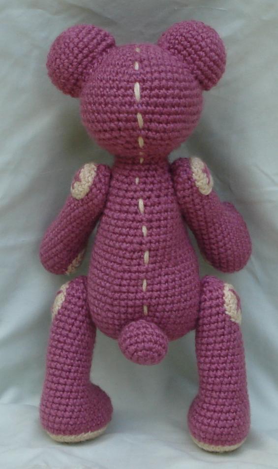 Amigurumi Pink Bear : pink bear amigurumi 4 by TheArtisansNook on deviantART