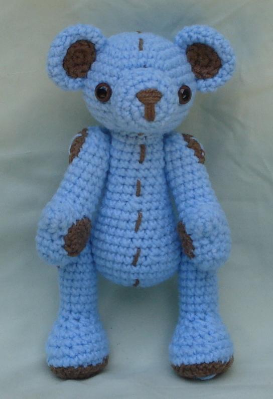 Tiny Amigurumi Bear Pattern : small bear amigurumi by TheArtisansNook on deviantART