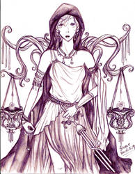 Dike :: The Goddess of Justice by friesse