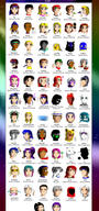 20 Galaxies - Complete Cast by whirlwynd