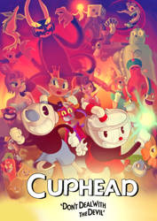 Cuphead: Comic Adaptation Cover by whirlwynd