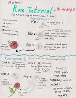 How to Draw A Rose 2 by xiiTErRie