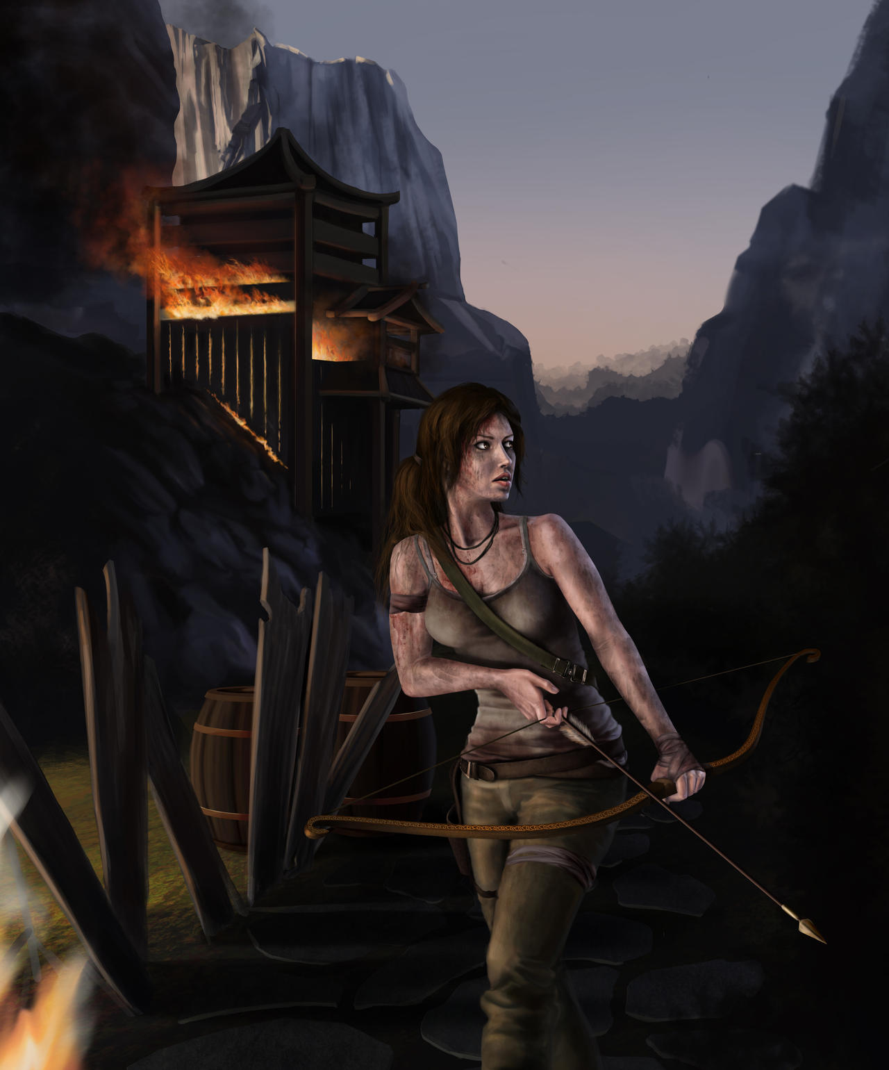 Tomb Raider Reborn Contest Entry by knrdo