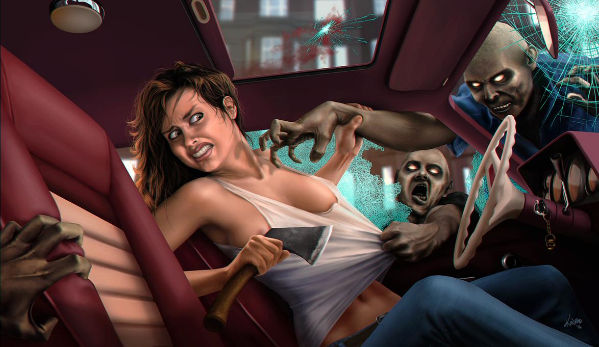 A Zombie Problem by knrdo