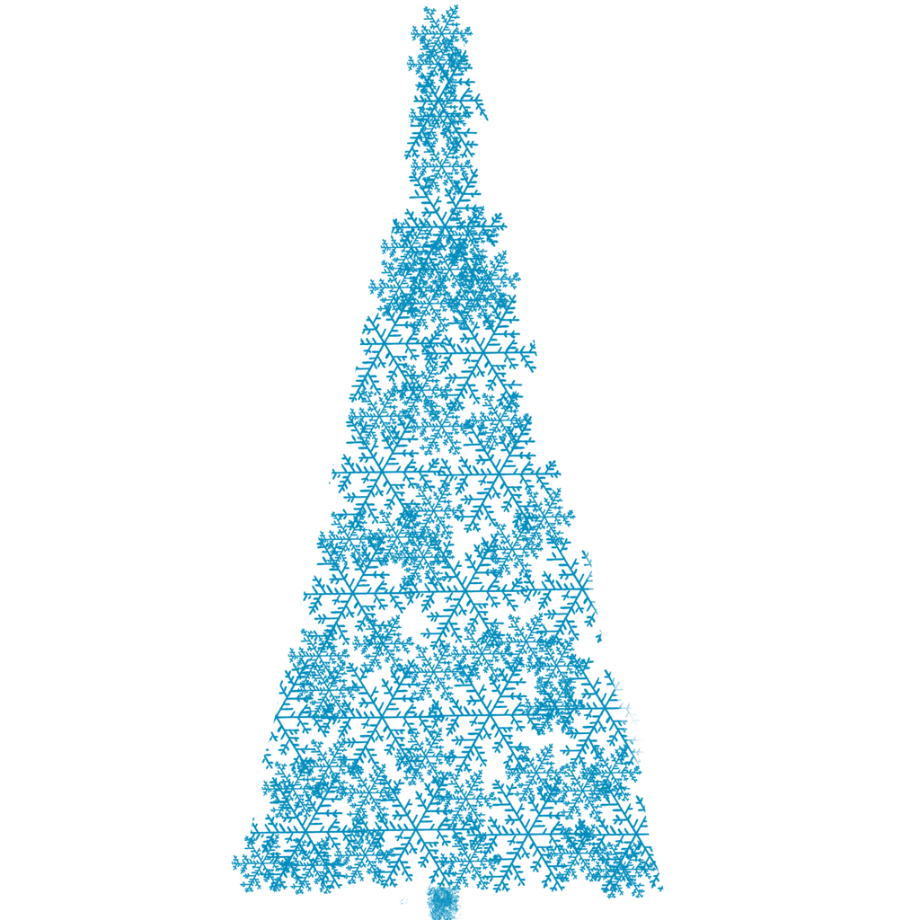 Light Blue Christmas Tree
