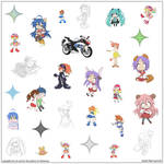 cool and cute stickers