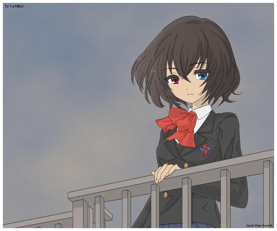 Misaki Mei - alternate version by JacobMainland