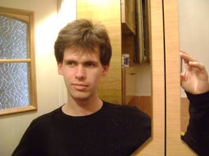 Me before haircut